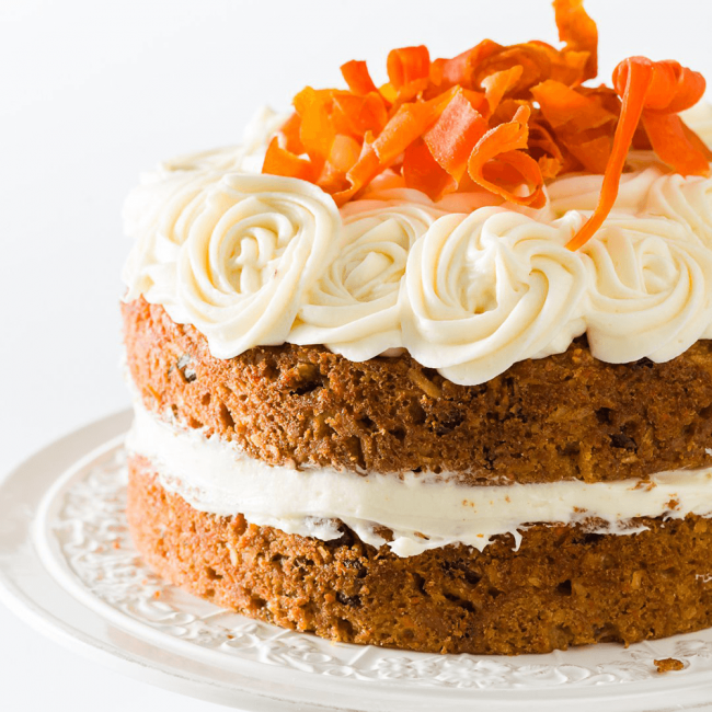 Moist Carrot Cake with...